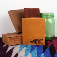 Fox Leather Wallet *Free Customization!*