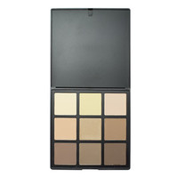 Morphe Brushes 9C 9 Color Highlight & Contour Palette at Beauty Bay