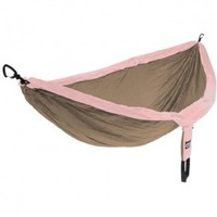 ENO Double Nest Hammock - Khaki/Rose - Going Gear