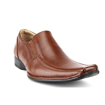 Men's 88263 Classic Squared Toe Slip On Loafers Dress Shoes