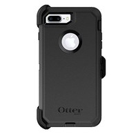 OtterBox Defender Series Case & Holster for Apple iPhone 7 Plus (ONLY) - Black (Certified Refurbished)