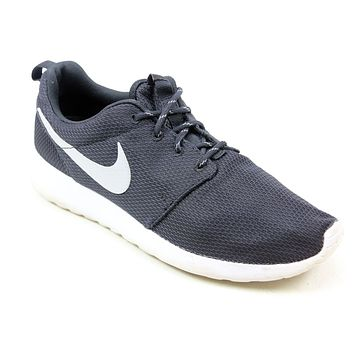MENS NIKE ROSHE RUN ONE BLACK MESH LACE UP RUNNING GYM SPORTS TRAINERS UK SIZE 7