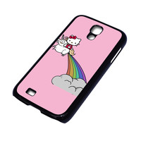 HELLO KITTY UNICORN Samsung Galaxy S4 Case