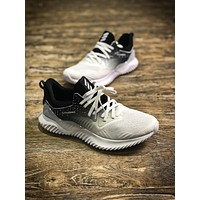 Adidas Alpha Bounce White Alphabounce Sport Running Shoes