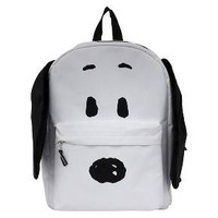 "Peanuts Snoopy 16"" Plush Ears Backpack - White : Target"