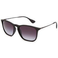 Ray-Ban Chris Sunglasses Black/Grey Gradient One Size For Men 25514012701