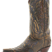 Dan Post Women's Brown Western Cowboy Boots Leather
