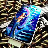 Sparkling Mermaid for iPhone 4/4s/5/5s/5c/6/6 Plus Case, Samsung Galaxy S3/S4/S5/Note 3/4 Case, iPod 4/5 Case, HtC One M7 M8 and Nexus Case ***