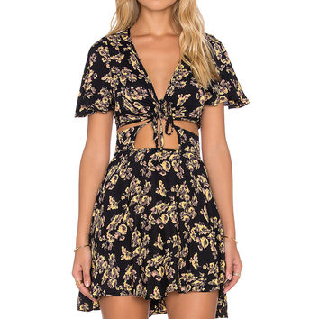 Blue Life Love Struck Dress in Night Floral