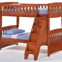 Eastwood Twin over Twin Stairway Bunk Beds