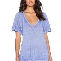 Free People Free Falling Tee in Dutch Blue