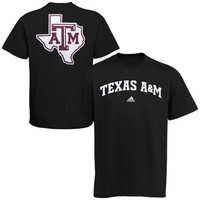 adidas Texas A&M Aggies Relentless T-Shirt - Black