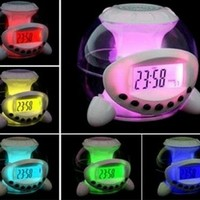 Magic 7 Color Change Led Light Lamp Ball Alarm Clock