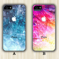 Sparkle Abstract Casebattle iPhone 5S/5C/5/4S/4 Wrap Case and Tough Case