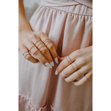 Meaningful Moments Ring Set