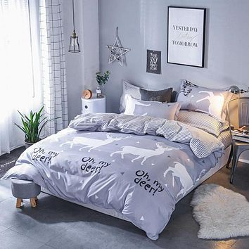 Stylish Duvet Cover Bed Sheets