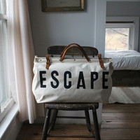 ESCAPE Canvas Utility Bag by Forestbound - FORESTBOUND