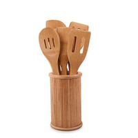Mato Bamboo Kitchen Cooking Utensils 6 pcs Set