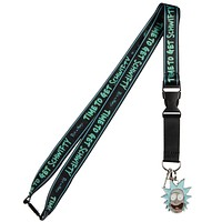 Rick & Morty Get Schwifty Lanyard