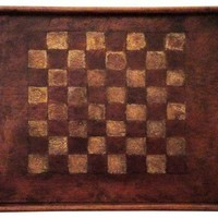 Early-19th-C. Painted Gameboard