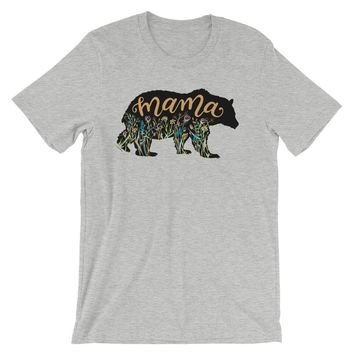 Mama Bear Shirt Mother's Day T Shirt, Shipping Included!
