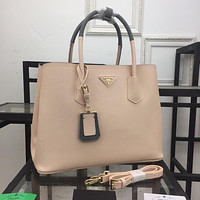 PRADA WOMEN'S NEW STYLE LEATHER HANDBAG SHOULDER BAG