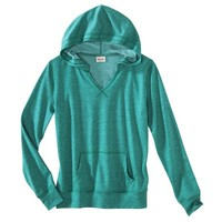 Mossimo Supply Co. Juniors V-Neck Hooded Sweatshirt - Assorted Colors