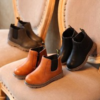 Fall Boots PU leather 3 Colors