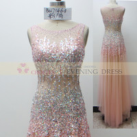 online shop BQ71463 Pink luxury crystal beaded prom dress Wedding Dress 2015, View prom dress 2015, CHOIYES Prom dress Product Details from Chaozhou Choiyes Evening Dress Co., Ltd. on Alibaba.com