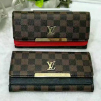 LV Women Leather Purse Wallet Satchel Bag