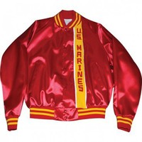 Red and Gold US Marines Jacket | Mens Warm Wear | Mens | Sgt Grit - Marine Corps Store