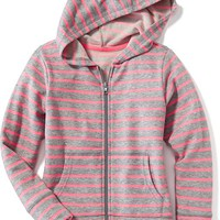 French-Terry Full-Zip Hoodie for Girls | Old Navy