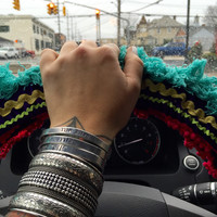 Natural Life // Boho Steering Wheel Cover