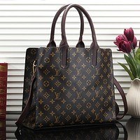 Louis Vuitton LV Women Leather Fashion Handbag Tote Crossbody Shoulder Bag