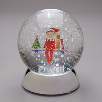 Department 56 Elf on the Shelf Waterdazzler Water Glass New with Box