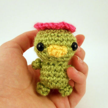 Girl Baby Kappa - Made to Order - Crocheted Plushie