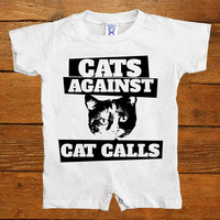 Cats Against Catcalls #3 -- Baby Onesuit