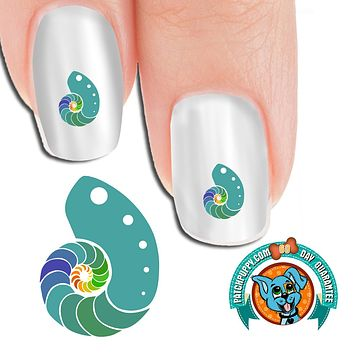 Sea Shell Nail Art Decals (Now! 50% more FREE)