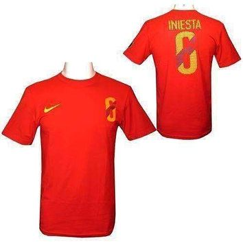 Andreas Iniesta Nike Hero t-shirt NWT World Cup Spain new with tags soccer