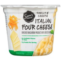 Sam's Choice™ Italian Four Cheese Shells & Cheese 3.6 oz. Microwave Bowl - Walmart.com