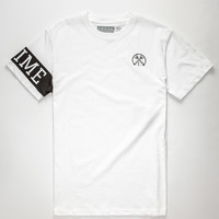 Civil Honor Sleeve Mens T-Shirt White  In Sizes