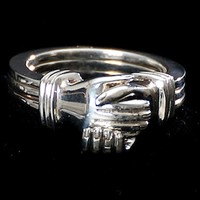 Puzzle Rings - FRIENDSHIP PUZZLE RING - Handcrafted Silver Jewelry