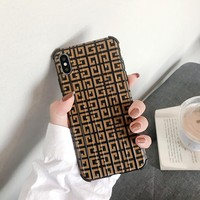 Fashion GIVENCHY Case for iPhone 7 8 XS MAX XR