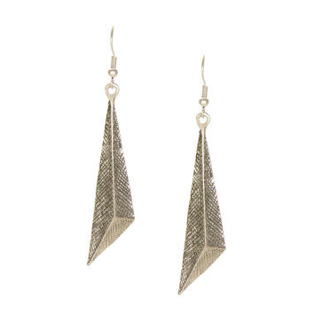 Stereoscopic Triangle Earrings In Retro Style