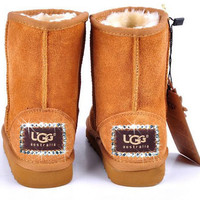 UGG Boots With Luxe Swarovski Crystal Elegant Accents