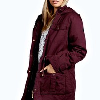 Courtney Cotton Twill Parka