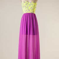 Colors of Spring Maxi