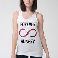 Work Out Clothes - Forever Hungry - Funny Workout Shirt - Fitness - Tumblr - Women Tank Top - Workout Tank - Workout Clothing - Hungry Tank