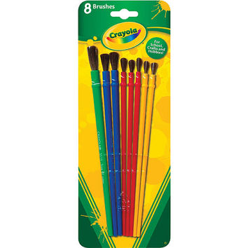 Crayola 8 pack Brushes