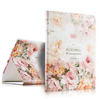 For ipad pro 9.7'' case,High quality Fashion 3D relief painting leather cover case for Ipad Pro 9.7''